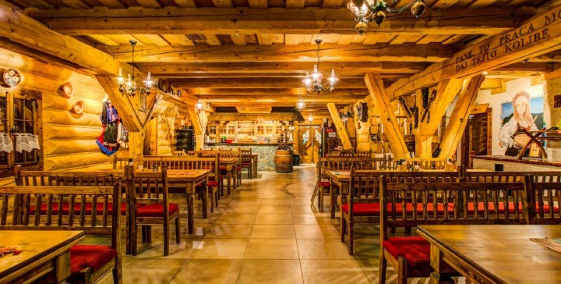 reštaurácie Liptov